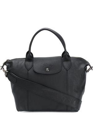 Longchamp Le Pliage Cuir tote-väska