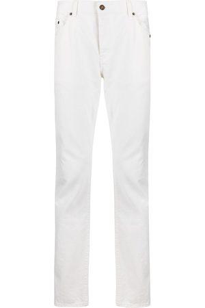 Saint Laurent Stentvättade slim fit-jeans