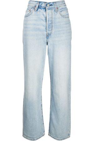 Levi's Ribcage raka jeans med hög midja