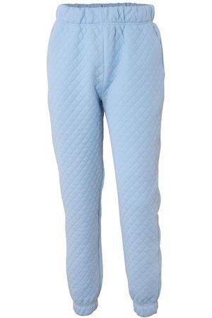 Hound Sweatpants - Quilted - Ljusblå