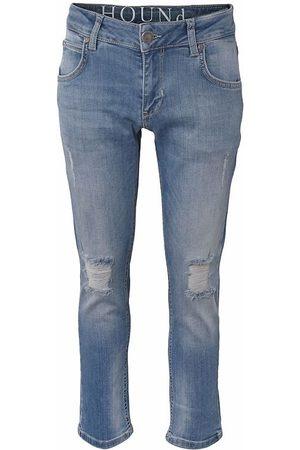 Hound Pojke Straight - Jeans - Straight - Trashed Blue