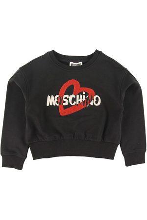 Moschino Sweatshirt - Svart m. Glitter/Logo