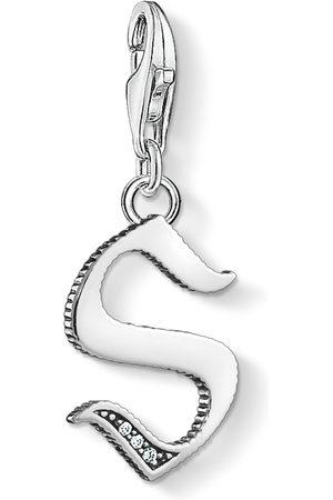 Thomas Sabo Halsband - Charm-hängsmycke bokstaven S silver