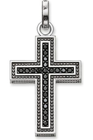 Thomas Sabo Halsband - Hängsmycke kors pavé
