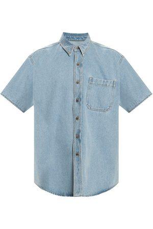 Nanushka Short-sleeved denim shirt