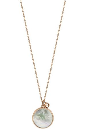 GINETTE NY Maria Disc Necklace