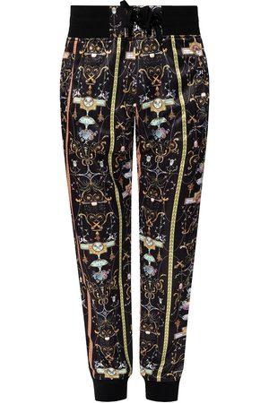 VERSACE Printed sweatpants
