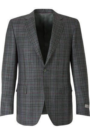 CANALI Man Kavajer - Straight Checked Blazer