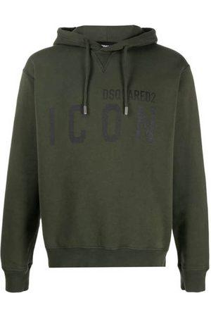 Dsquared2 Man Hoodies - Icon-Print Hooded Sweatshirt