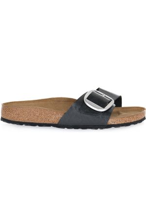 Birkenstock Madrid BIG Buckle Licorice Calz Sliders
