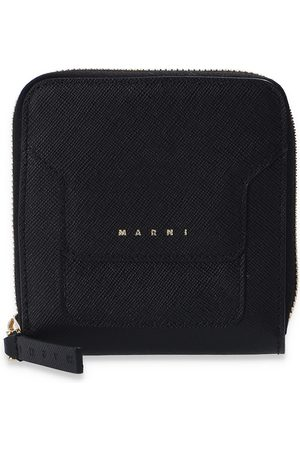 Marni Leather wallet with logo