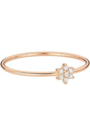 GINETTE NY Mini Diamond Star Ring