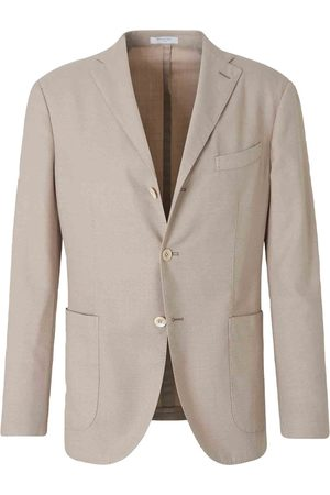 Boglioli Straight Wool Knit Blazer