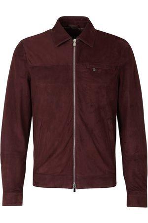 Santa Eulalia Suede Leather Jacket