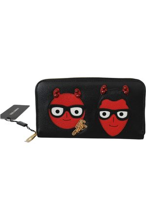 Dolce & Gabbana Evil Continental Clutch Leather Wallet