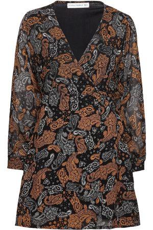 FAITHFULL THE BRAND La Morra Wrap Dress Kort Klänning Svart