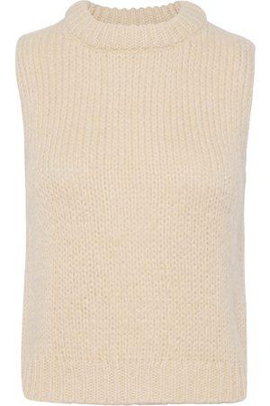 Envii Entrepka Sl Knit 5245 Vests Knitted Vests Rosa