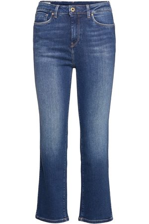 Pepe Jeans Dion 7/8 Slimmade Jeans Blå