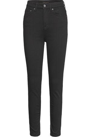 Nudie Jeans Hightop Tilde Slimmade Jeans Svart