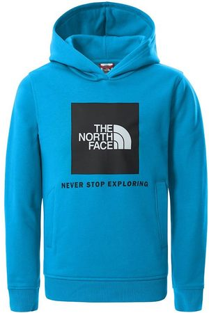 The North Face Hoodies - Hoodie - Ljusblå m. Logo