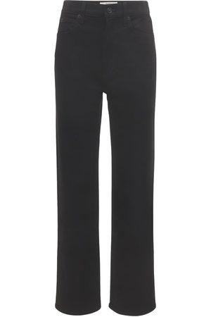 SLVRLAKE London High Waist Straight Leg Jeans