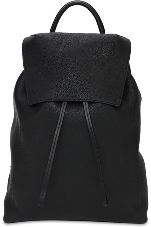 Loewe Drawstring Leather Backpack