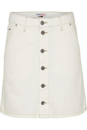 Tommy Hilfiger Kvinna Jeanskjolar - A-line short denim skirt