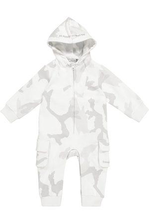 Dolce & Gabbana Kids Baby camouflage cotton onesie