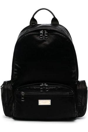 Dolce & Gabbana Ryggsäck med logotypplakett