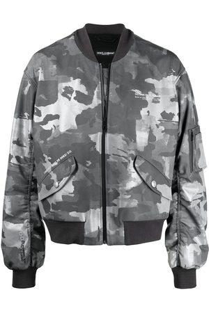 Dolce & Gabbana Kamouflagemönstrad bomberjacka