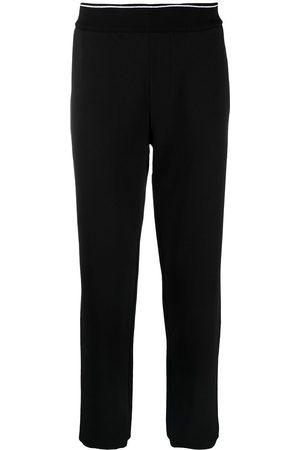 Armani Exchange Man Joggingbyxor - Trackpants med ribbad kant