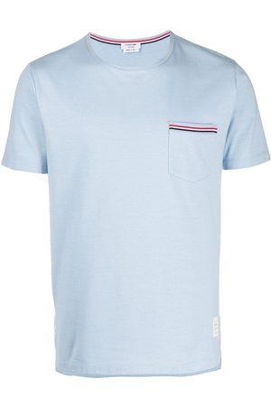 Thom Browne Man T-shirts - T-shirt med ficka