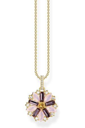 Thomas Sabo Kvinna Halsband - Halsband blomma guld