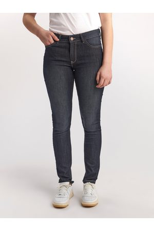 Lindex Kvinna Slim - TOVA Mörkblå slim fit jeans