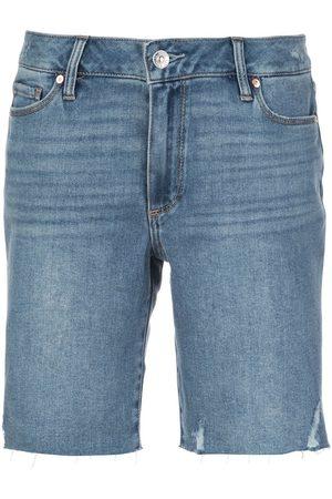 PAIGE Kvinna Shorts - Jax shorts med slitning