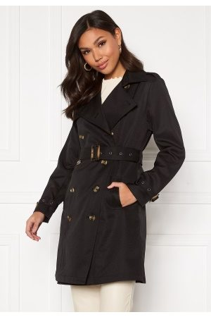 Chiara Forthi Kvinna Sommarjackor - Moneglia Trench Coat Black M