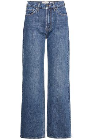 Tomorrow Kvinna Straight - Brown Straight Jeans Bright Orlando Vida Jeans