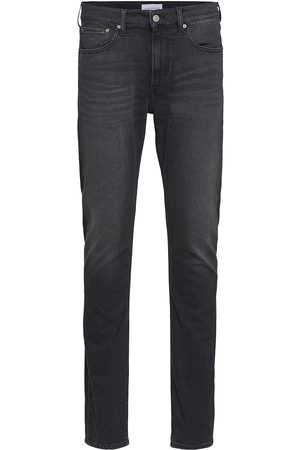 Calvin Klein Man Slim - Slim Taper Slimmade Jeans Blå
