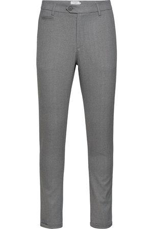 Les Deux Man Dressade byxor - Como Herringb Suit Pants Kostymbyxor Formella Byxor