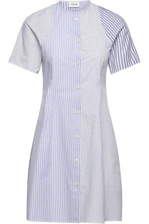 WoodWood Kvinna Klänningar - Sia Stripe Dress Dresses Shirt Dresses