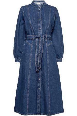 Norr Kvinna Midiklänningar - Texas Dress Knälång Klänning