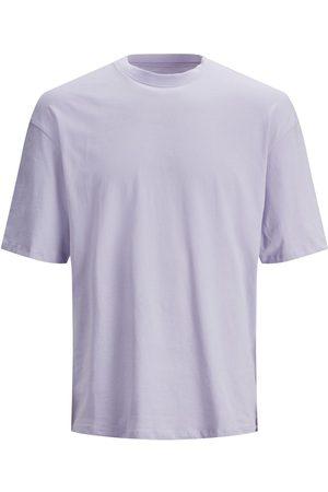 Jack & Jones Boxy Fit Bomull T-shirt Man Pastel; Purple
