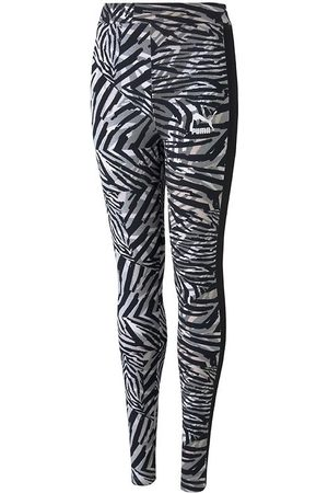 PUMA Flicka Leggings - Leggings - Classic - Safari
