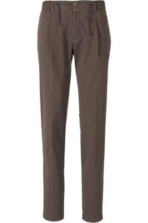 LUIGI BORRELLI NAPOLI Elastic Waist Trousers