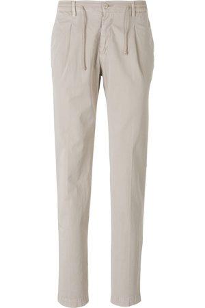 LUIGI BORRELLI NAPOLI Man Chinos - Elastic Waist Trousers