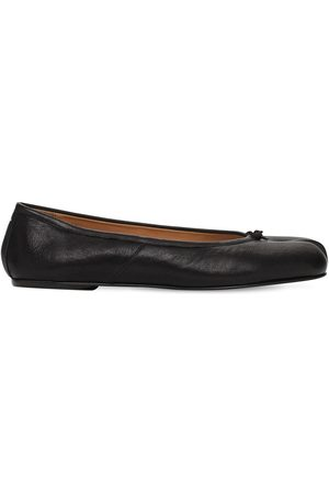 Maison Margiela 10mm Tabi Vintage Leather Ballerinas