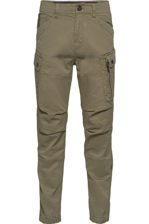 G-star RAW Roxic Straight Tapered Cargo Pant Trousers Cargo Pants Grön