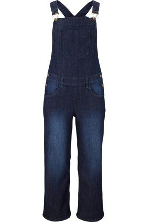 bonprix Bekväma jeanssnickarbyxor, vid passform