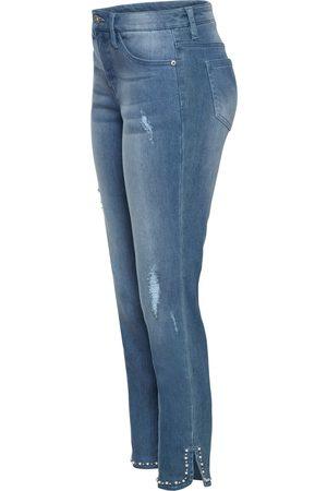 bonprix Skinny jeans med applikation
