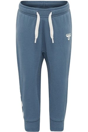 Hummel Joggingbyxor - Sweatpants - HMLApple - Petroleum